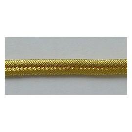 GOLD 2 W/M 1/4 INCH (NO.9) RUSSIA BRAID